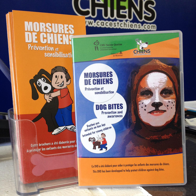 Ça C'est Chiens - Prévention des Morsures de Chiens (DVD)